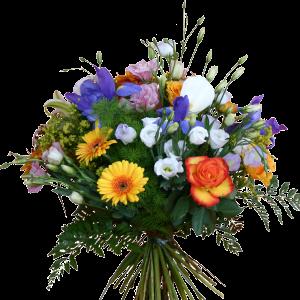 Bouquet colorato fiori estivi