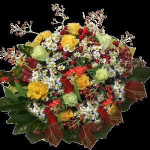 Bouquet colori caldi