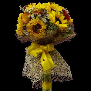 Bouquet Girasoli e fiori di stagione